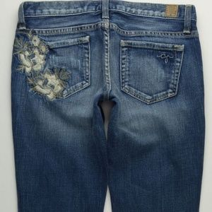 Guess Foxy Flare Jeans Women's 28 Stretch A461J